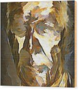 Ghost Of Robert Stanfield Wood Print