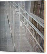 Ghost Rails 2 Wood Print