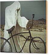 Ghost Rider Wood Print