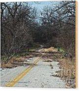 Ghost Road IIi Wood Print