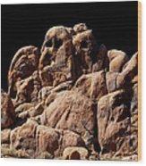 Ghost Rocks Or Ghosts Rock Wood Print