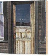 Ghost Town Handcrafted Door Wood Print