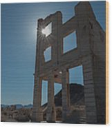 Ghost Town - Rhyolite Wood Print