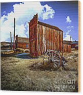 Ghost Towns In The Southwest Wood Print