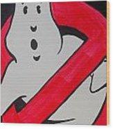 Ghostbuster Wood Print