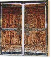 Ghostly Doors By Diana Sainz Wood Print