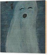 Ghostly Serenade Wood Print