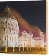 Ghosts Of Piazza Del Duomo Wood Print