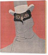 Giacomo Puccini (1858-1924), Italian Wood Print