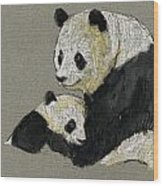 Giant Panda Wood Print