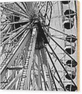 Giant Wheel Wood Print