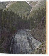 Gibbon Falls Wood Print