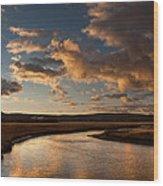 Gibbon River Yellowstone Wood Print