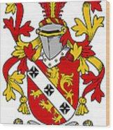 Gibbons Coat Of Arms Irish Wood Print