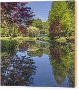 Gibbs Garden Wood Print