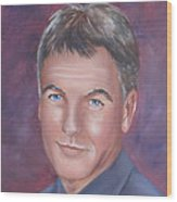 Gibbs Of Ncis Wood Print
