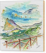 Gibraltar 02 Wood Print