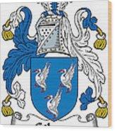 Gibson Coat Of Arms Irish Wood Print