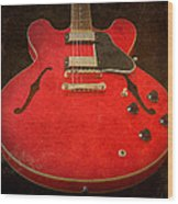 Gibson Es-335 Electric Guitar Body Wood Print