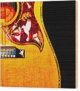 Gibson Hummingbird Wood Print