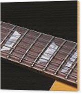 Gibson Les Paul Wood Print