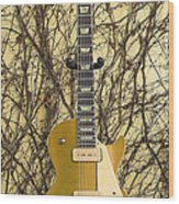 Gibson Les Paul Gold Top '56 Guitar Wood Print
