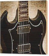 Gibson Sg Standard Brick Wood Print