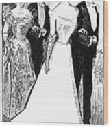 Gibson: The Debutante, 1899 Wood Print