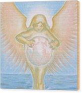 Gift Of The Golden Goddess Wood Print