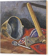 Gifts Of The Ax Makers Wood Print by Jennifer Richard-Morrow