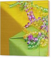 Gifts With Ribbon Wood Print by Amy Cicconi
