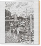 Gig Harbor Entrance Wood Print