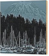 Gig Harbor  Washington  Wood Print