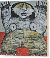 Gigantes No. 7 Wood Print by Mark M  Mellon