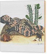 Gila Monster Wood Print