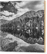 Gilbert Lake Wood Print