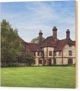 Gilbert White's House Wood Print
