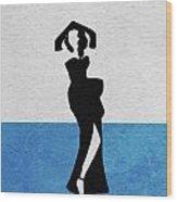 Gilda Wood Print