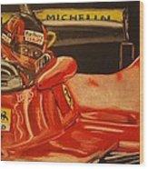Gilles Villeneuve At Monaco 1980 Wood Print