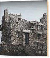 Gillette Castle Wood Print
