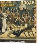 Gilmore And Leonard  Wood Print