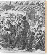 Gin Mill: London, 1861 Wood Print