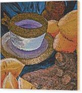Ginger Lemon Tea 2 By Jrr Wood Print