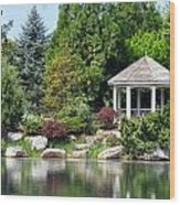 Ginter Gazebo Wood Print