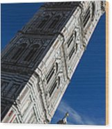 Giotto Fantastic Campanile - Florence Cathedral - Piazza Del Duomo - Italy Wood Print