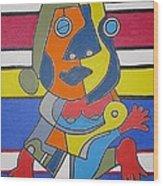 Gipsy Woman Wood Print