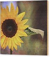 Girasole Wood Print