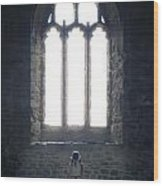 Girl In Chapel Wood Print by Joana Kruse