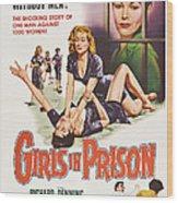 Girls In Prison, Us Poster, Joan Wood Print