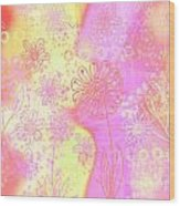 Girlz Only Abstract Wood Print